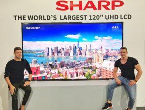 Sharp LCD 4K