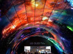 LG OLED Tunel IFA 2017