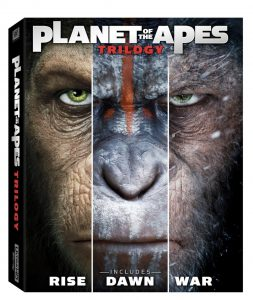 Trylogia Planeta Małp Blu-ray
