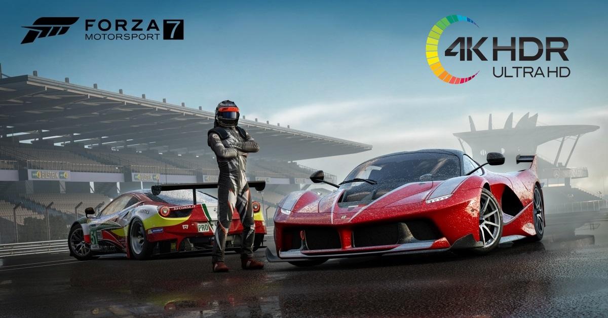 Jak włączyć i skonfigurować 4K HDR na PC WIN10? Gramy w Forza Motorsport 7