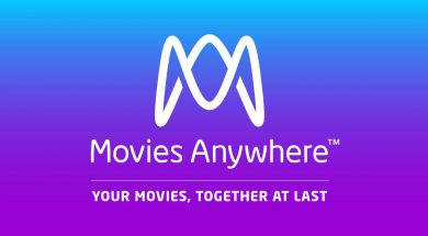 Movies Anywhere plansza tytułowa