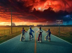 Stranger Things sezon 2 grafika tytułowa