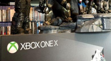 Uboxing Xbox One X