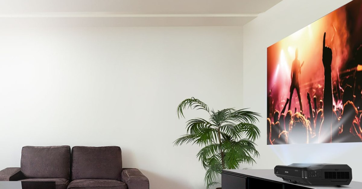 Projektor laserowy zamiast telewizora na przykładzie Epson EH-LS100, czy to możliwe?