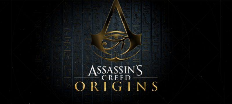 Assassins Creed Origins grafika tytułowa