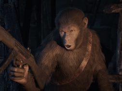 Planet of the Apes Last Frontier grafika tytułowa