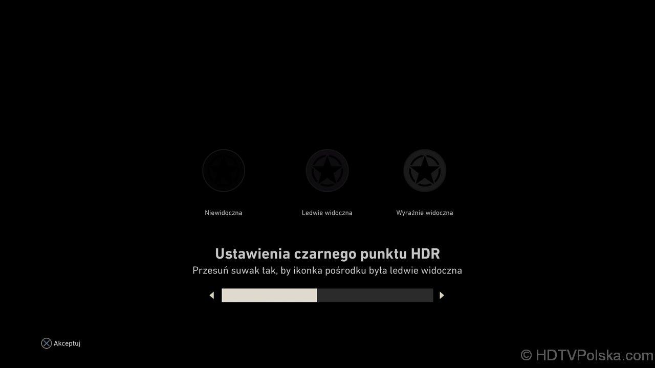 Ustawienia HDR Call of Duty WWII