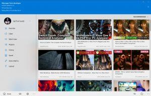 aplikacja myTube na Xbox One pozwala na odtwarzanie filmików w 4K