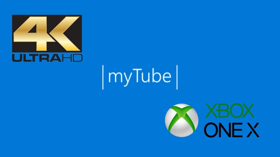 Aplikacja myTube na Xbox One oferuje odtwarzanie w 4K
