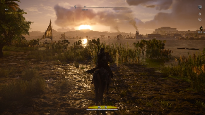 Assassins Creed Origins Xbox One X 4K HDR recenzja