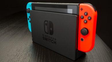 Nintendo Switch okładka