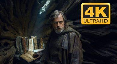 Ostatni Jedi 4K Bluray Disney okładka