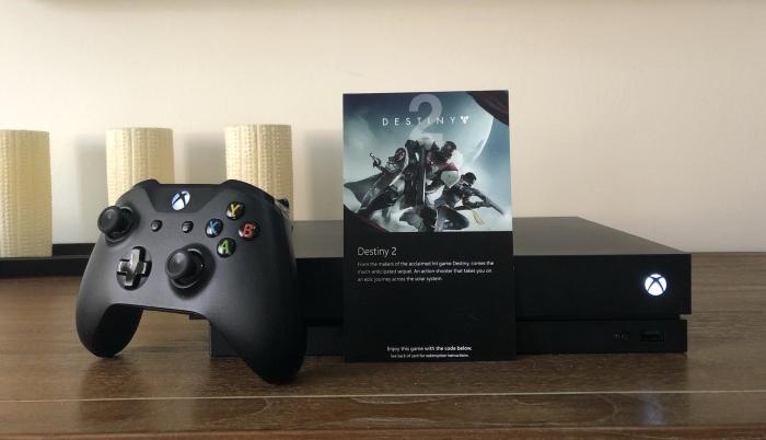 Destiny 2 Xbox One X 4K
