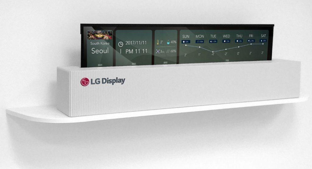 LG OLED zwijany2