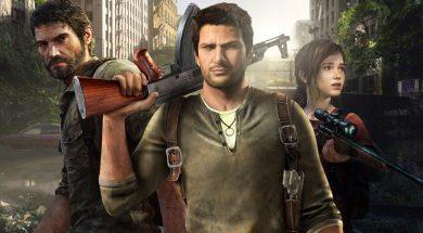 Uncharted The Last of Us okładka