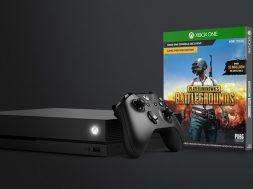 Xbox One X PUBG okładka