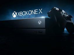 Xbox One X okładka