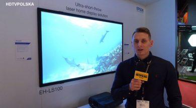 ISE 2018 Epson projektor LS100