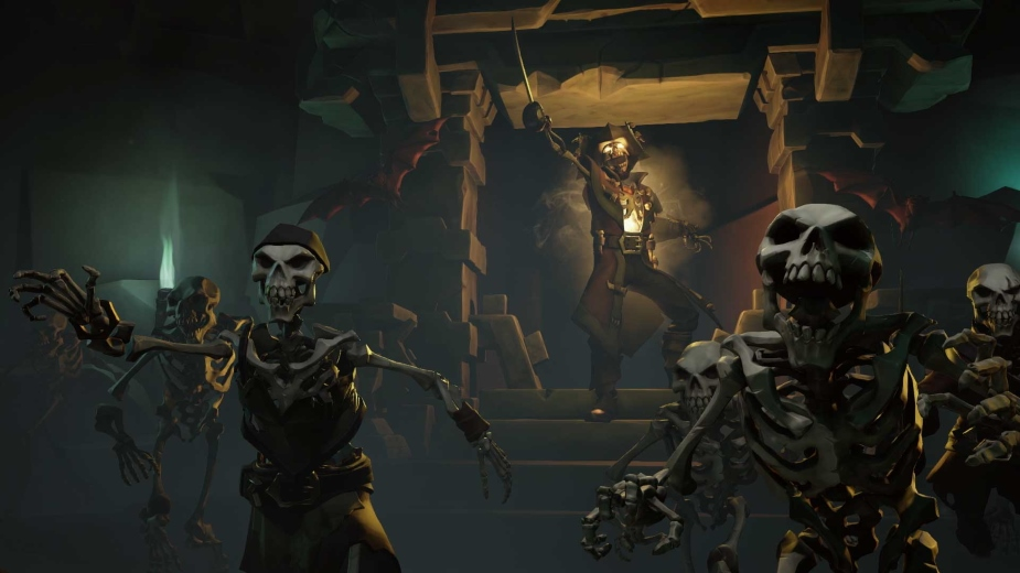 Usprawnienia Xbox One X i 4K dla Sea of Thieves dopiero na premierę