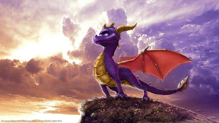 Spyro the Dragon środek