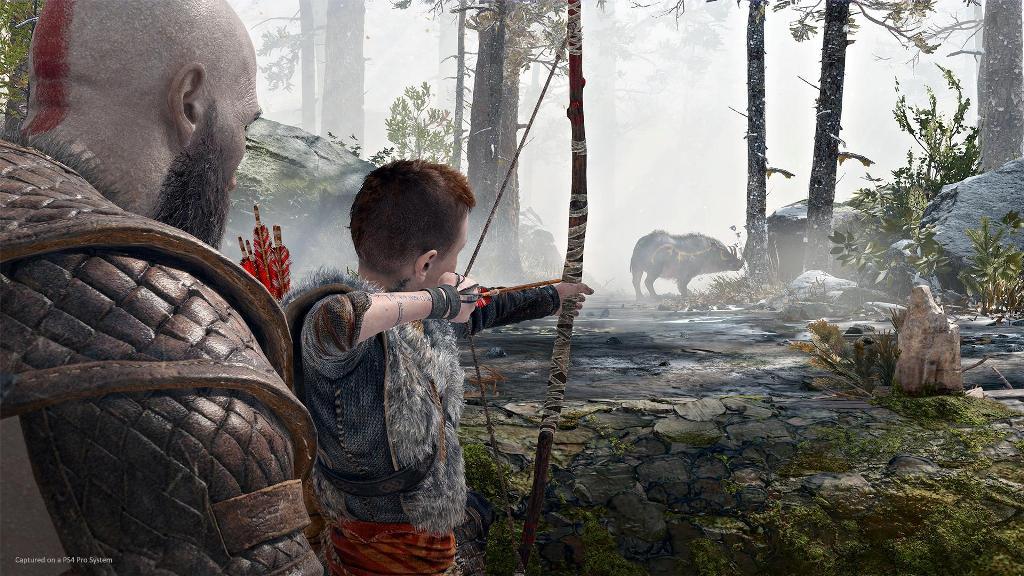 God of War zapowiedź 2018 PS4 Pro 2