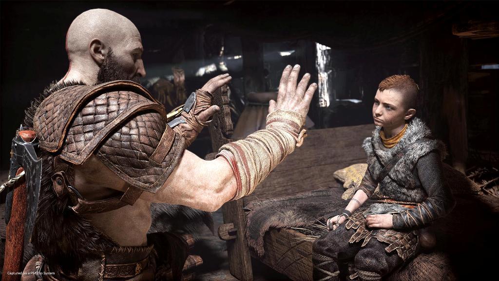 God of War zapowiedź 2018 PS4 Pro4