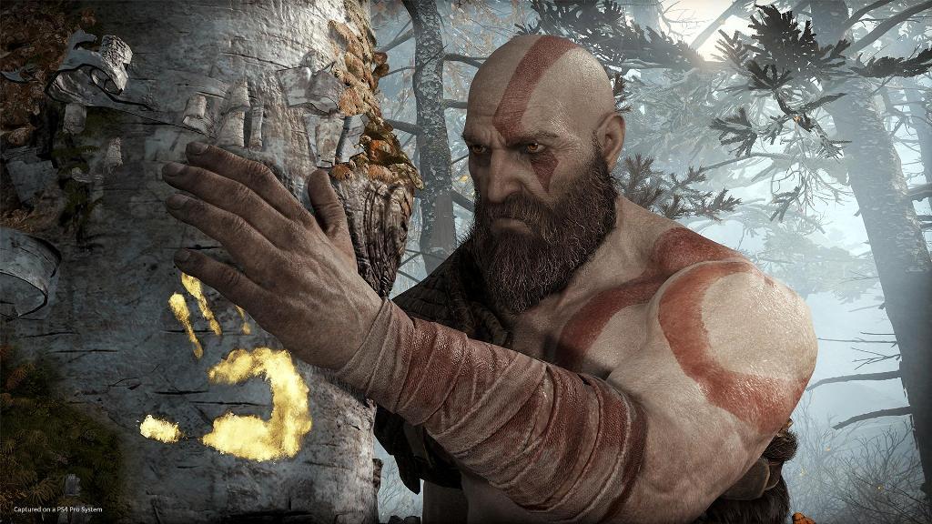 God of War zapowiedź 2018 PS4 Pro