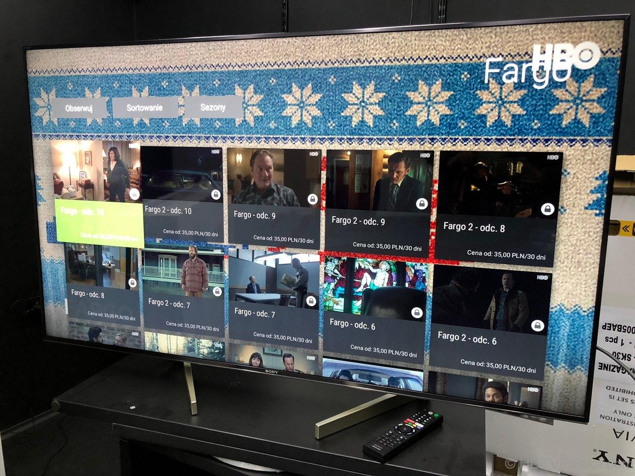 Dostęp do treści HBO przez serwis IPLA na telewizorach z