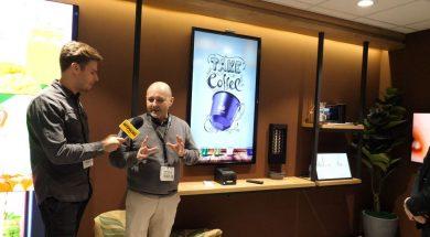ISE 2018 aplikacja zakup kawy WebOS 2018
