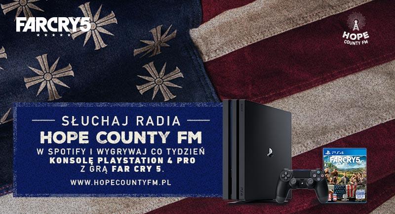 Far Cry 5 konkurs radio