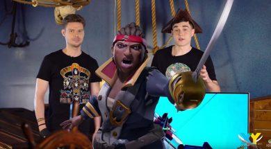 Sea of Thieves Xbox XY Piotr Gmerek Piotr Szychowski wywiad LG OLED