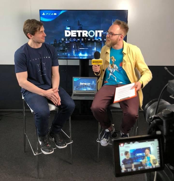 Detroit: Become Human wywiad Adam Williams