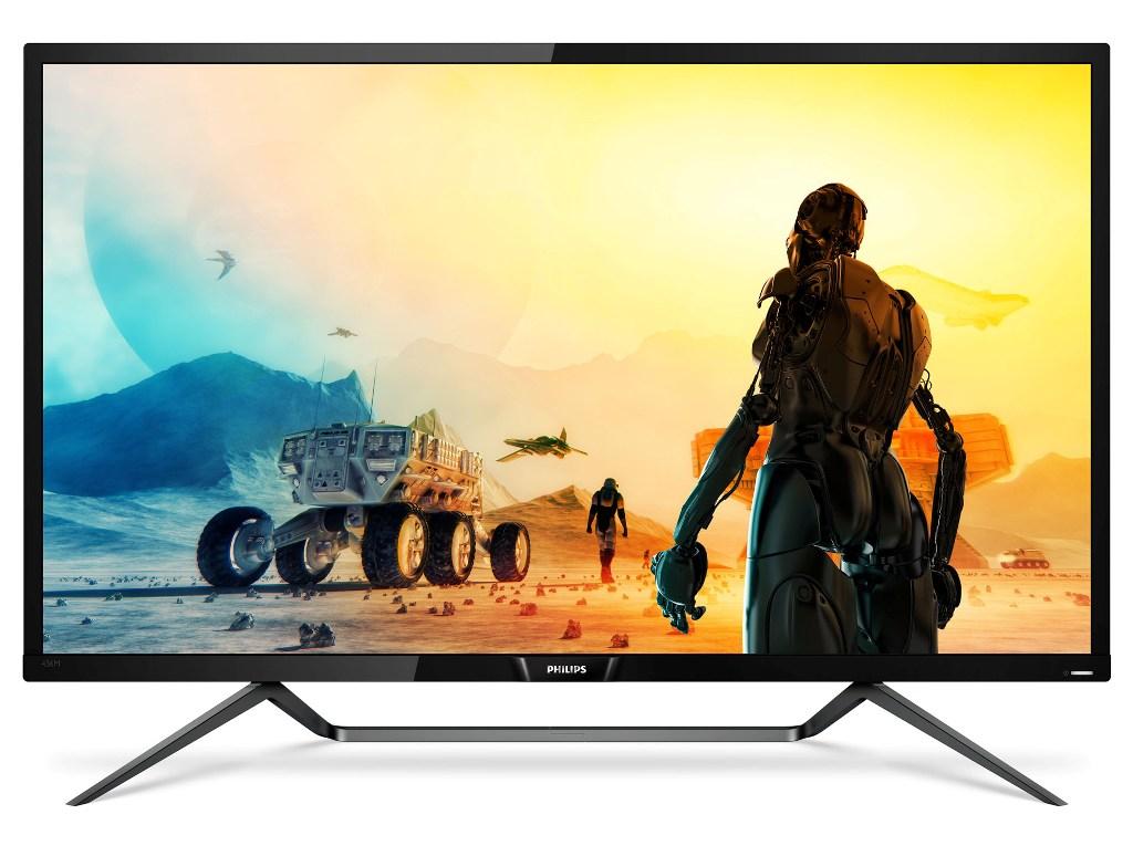 Philips Momentum: 43-calowy monitor 4K z pełnym HDR i podświetleniem Ambiglow