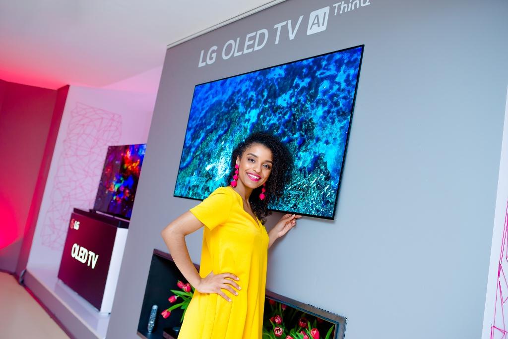 Premiera LG 2018 OLED TV