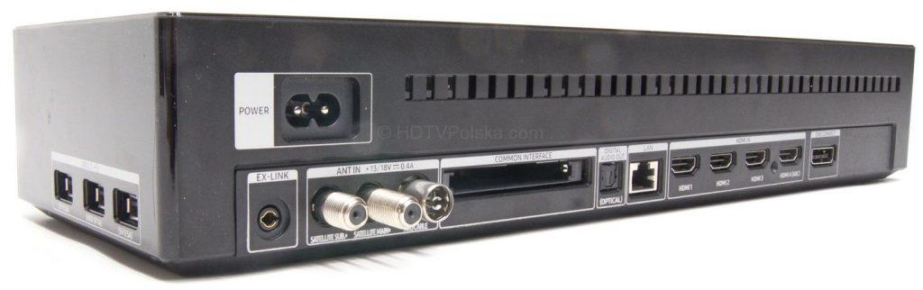 Moduł One Connect - telewizor Samsung QLED QE65Q9FN