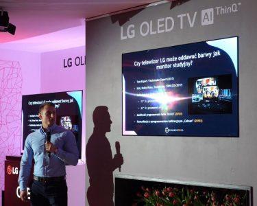 Konferencja LG 2018 jakość obrazu kalibracja 3D Lut