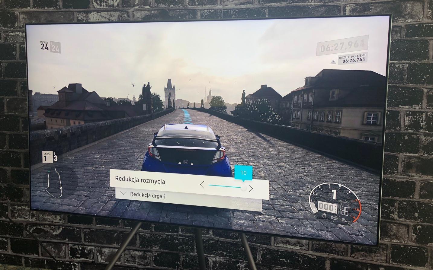 Motion Plus Gra | TEST | Nowość w TV od Samsung dedykowana dla graczy!