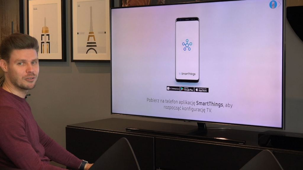 Aplikacja SmartThings   MINI TEST   Szybka konfiguracja i sterowanie Samsung TV