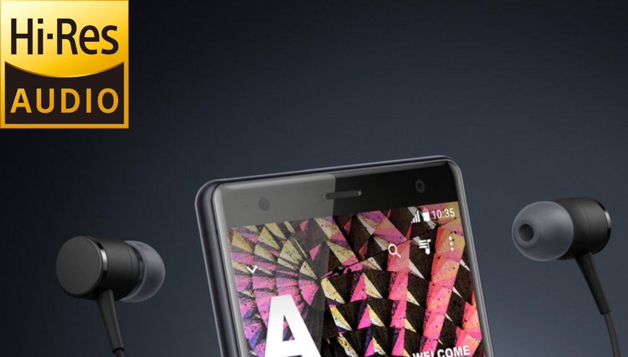 Sony Xperia XZ2 Hi-Res audio test