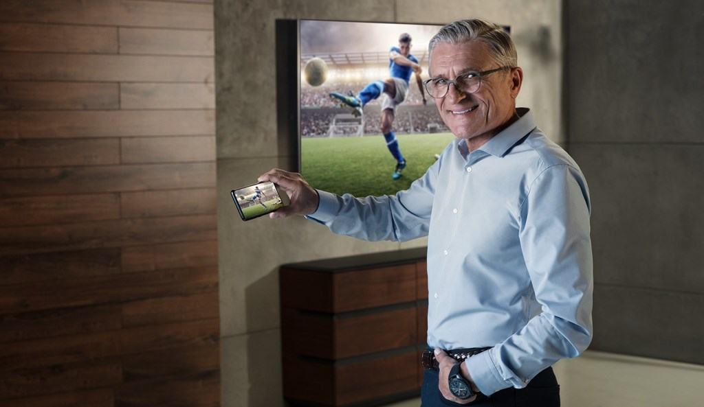 Adam Nawałka nowym ambasadorem marki Samsung