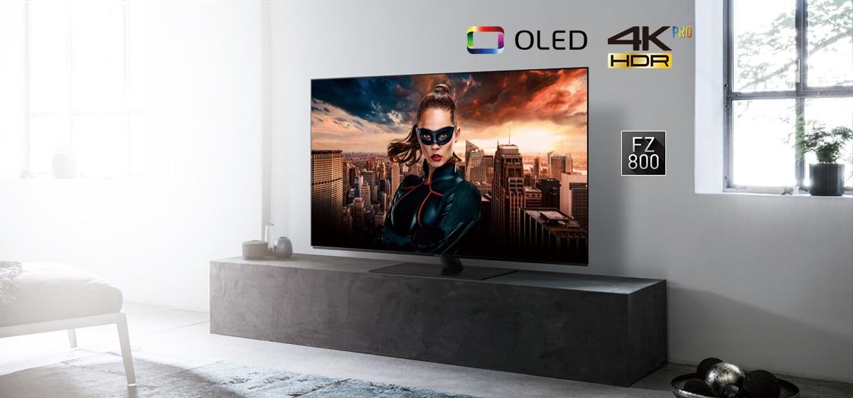 panasonic fz800 test oled 2018 ultra hd z hdr10. Black Bedroom Furniture Sets. Home Design Ideas