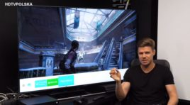 Telewizory dla graczy Samsung QLED 2018 | WIDEO TEST| Motion Plus Gra