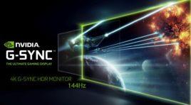 NVIDIA: Polska premiera monitorów HDR z matrycami 4K G-SYNC o częstotliwości odświeżania 144 Hz