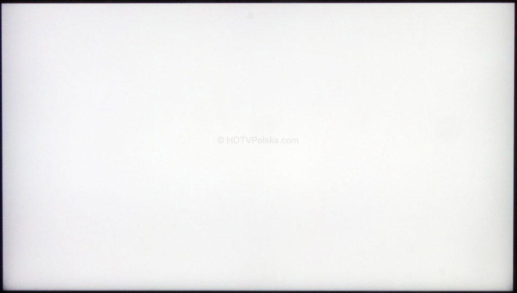Telewizor Samsung NU8002 - biel ekranu