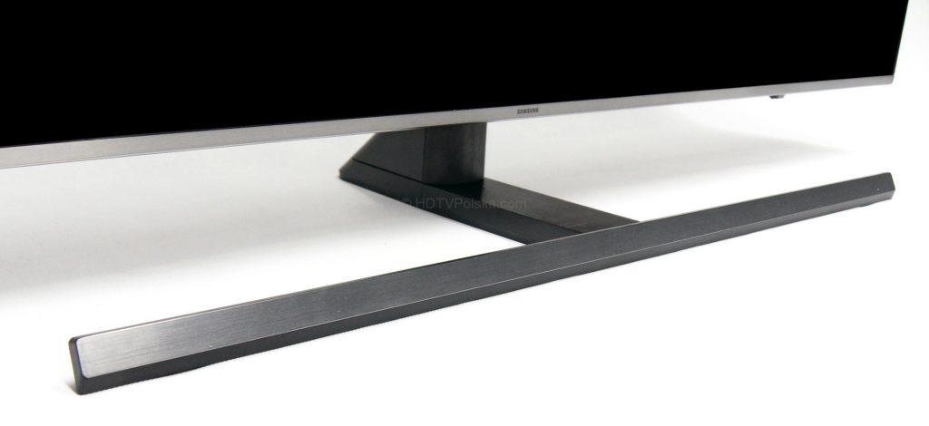 Telewizor Samsung LCD UHD NU8002 - podstawa