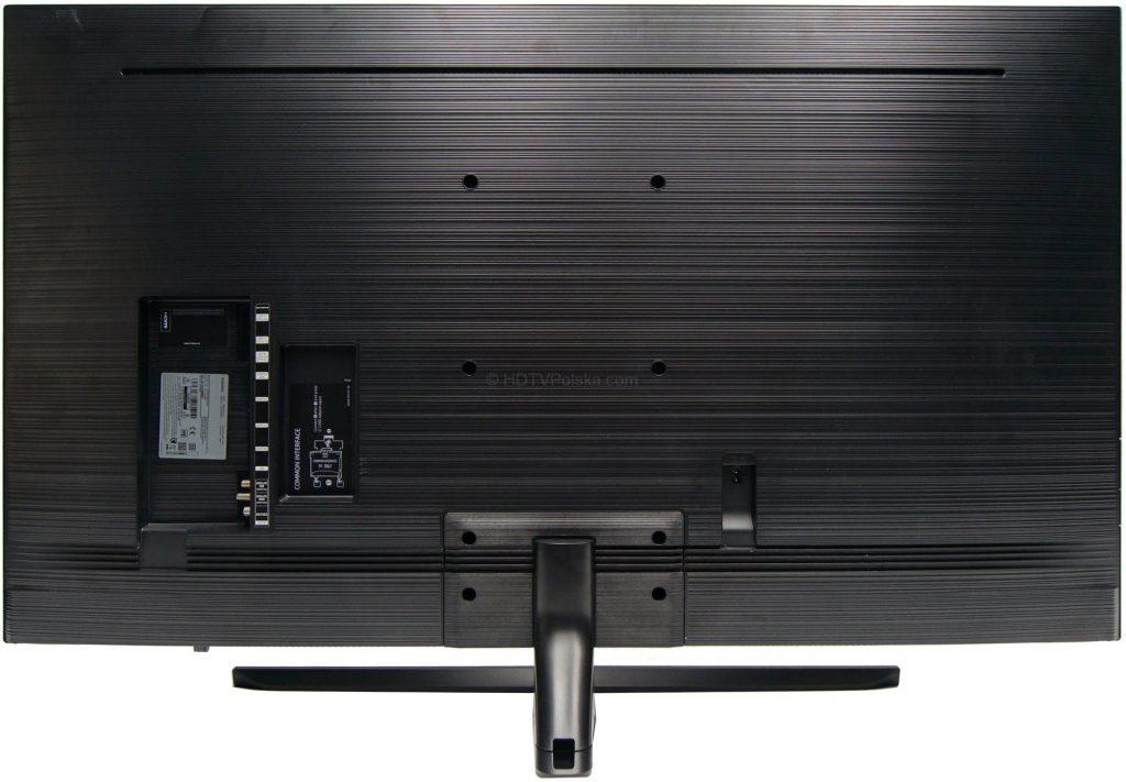 Telewizor Samsung NU8002 - tył