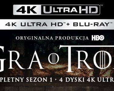 Londyn Gra o Tron Ultra HD Blu-ray 4K Dolby Vision HDR Premiera