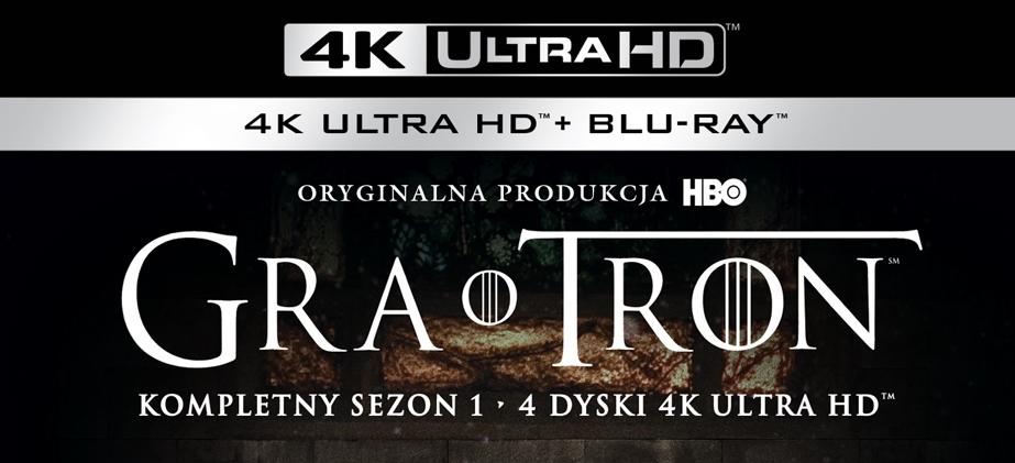 Londyńska premiera pierwszego sezonu serialu Gra o Tron na Ultra HD Blu-ray 4K!