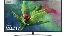 Samsung QLED Q8C (2018) QE55Q8CNA | TEST | Zakrzywiony QLED LCD