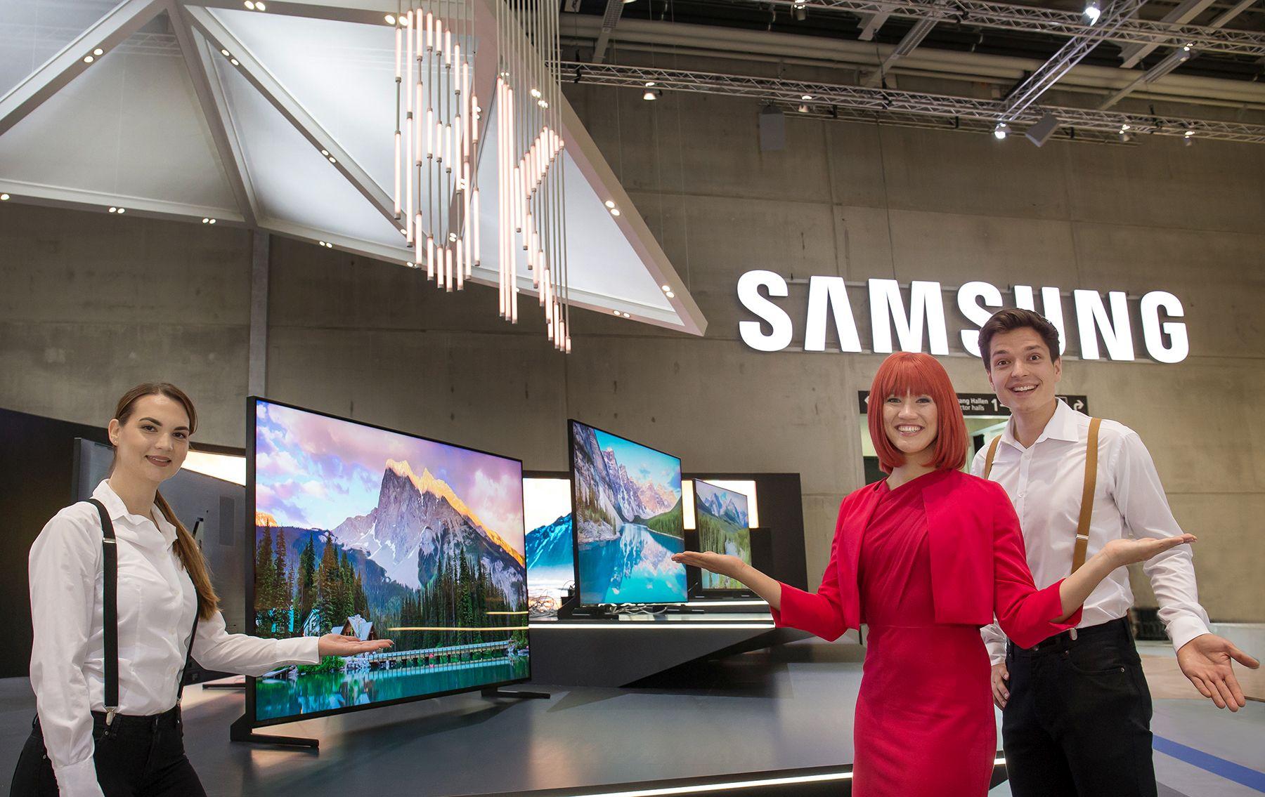 IFA 2018: Firma Samsung prezentuje telewizor QLED 8K z technologią sztucznej inteligencji
